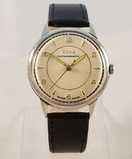 Vintage Doxa Antimagnetic Watch 1950 in Very Good Condition Collectors