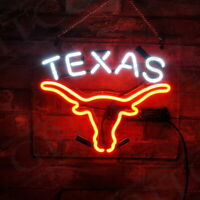 """TEXAS""  Painting Gift Custom Boutique Decor Porcelain Ohio State Neon Sign"