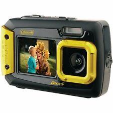 Coleman Duo2 2V9WP-Y 20 MP Waterproof Digital Camera with Dual LCD Screen