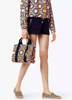 NWT Tory Burch OCTAGON Print Mini Tote in Ballet Pink