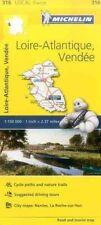 Loire-Atlantique, Vendee, France Local Michelin Map 316