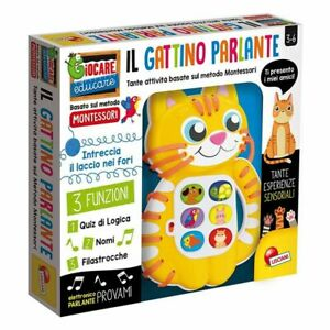 Lisciani Giochi Montessori il Gattino Parlante