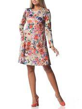 Geblümte Damenkleider aus Jersey