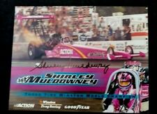 SHIRLEY MULDOWNEY SIGNED 3X CHAMPION HANDOUT DRAG RACING T/F HANDOUT