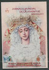 Estampa Virgen de la Macarena andachtsbild santino holy card santini