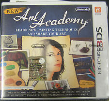 NEW ART ACADEMY   3DS NUOVO SIGILLATO PAL IMPORT