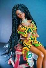 "8.5"" Custom Doll Wig for Smart Doll Bjd, Sd, Dollfie Dream dolls Aa twists"