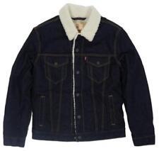 Cappotti e giacche da uomo blu Levi's taglia XXL