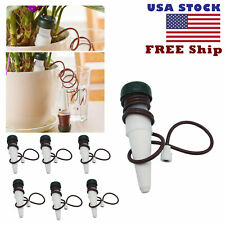 6pcs Automatic Self Watering Plant Drip System Garden Irrigation Tool Us Stock