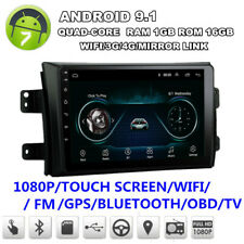 "9"" Android 9.1 For 06-2012 Suzuki SX4 Car Radio GPS Navigation Multimedia Player"