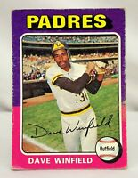 1975 Topps DAVE WINFIELD San Diego Padres Baseball Card #61