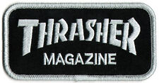 Thrasher Skateboard Magazine Punk Rock Music Skateboard Patch - Iron/Sew On New