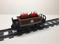 LEGO Custom Dynamite Freight Car for #10194 Emerald Night.  All new parts
