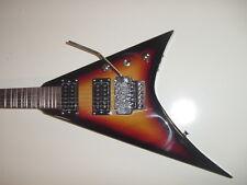 New Sunburst Flying V 6 String Electric Guitar with Gig Bag