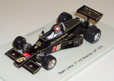 1/43 Spark Lotus 77 car #6 1976 Brazilian GP Mari Andretti S1779 with JPS decals