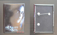 """Planet Of The Apes 2001 Movie 3 1/8"""" x 2 1/8"""" Metal Pin Pinback Button"""