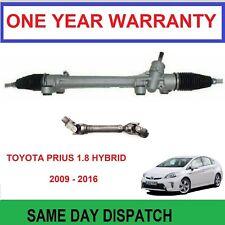 TOYOTA PRIUS 1.8 VVTi HYBRID 2009-2015 POWER STEERING RACK & COLUMN U JOINT