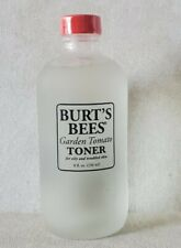 Burts Bees Garden Tomato Toner For Oily Troubled Skin 8 oz ~ Discontinued