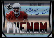 Michael Floyd RC Jersey /299 Patch 2012 Limited Material Phenoms RC #208 Mint