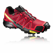 Chaussures rouges Salomon pour fitness, athlétisme et yoga