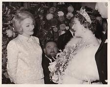 Marlene Dietrich The Queen Mother Londres Original Vintage Novembre 1963