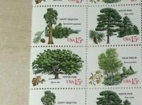 #1764-67 15 cent tree a group of 20 blocks of 4 Mint NH OG #1764-1767