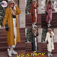 Women Winter Warm Knitwear Cardigan Pullover Casual Coat Outwear Long Sleeve Top