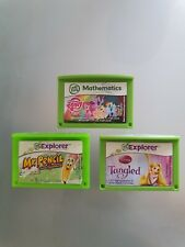 Leapfrog Leappad 2 3 games bundle My Little Pony Maths Mr Pencil Tangled disney