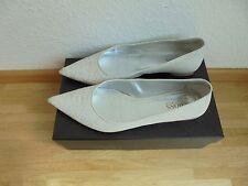 Hugo Boss Leder Ballerinas NP: 320€ + OVP Kitten Heels Schuhe Gr. 39,5 40