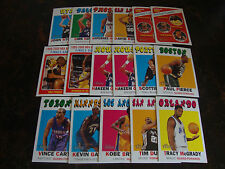 2000-01 Topps Heritage Basketball---Lot Of 17---Dupes---Stars Only---See List