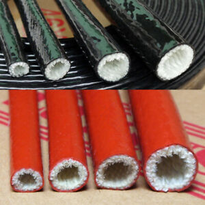Thermo Fire Braided Sleeve 51.0mm 5 metre Fire Protection Fibreglass