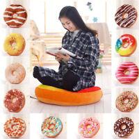 3D Soft Pillow Cover case cute Plush Donut Home Decor Cushion Pillowcase Gifts