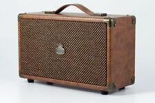 GPO Retro Bluetooth Speaker - Westwood - Large 25 Watts Model - Brown