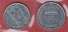 S54,   SAN MARINO,  50 LIRE DA SERIE DIVISIONALE 1973   KM 27,   FDC / UNC