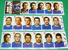 PANINI FOOTBALL GERMANY 2006 SERBIE MONTENEGRO WM COMPLET FIFA WORLD CUP