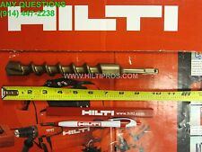 "HILTI TE-C 1"" x 10"" SDS plus _, MADE IN GERMANY, FREE PEN  FAST SHIPPING"
