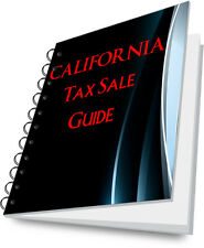 CALIFORNIA Tax Deed Sale State Guide For REI REO