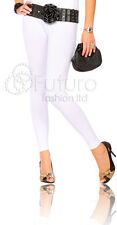 Thick & Heavy Cotton Leggings Full Length Size 8-22