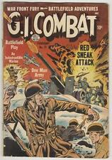 G.I. Combat #22 February 1955 VG Red Sneak Attack