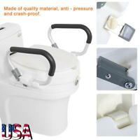New Carex E Z Lock Raised Toilet Seat W Adjustable