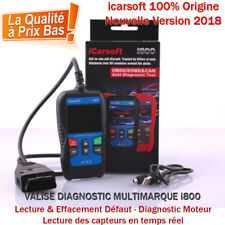 Valise Diagnostic Pro Multimarque Français Obd2 - iCarsoft i800 - 2018