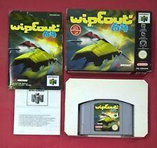 WipEout 64 - N64 -  Nintendo 64 - USADO - BUEN ESTADO