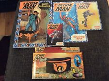 Action Man Lot Beltbag And Books
