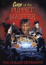 CURSE OF THE PUPPET MASTER DVD! NEW Horror Campy B Movie Block Slasher Murder