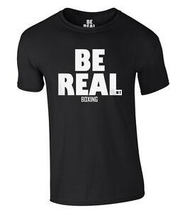 BE REAL Boxing T-Shirt Mike Tyson NEU NEW S-XXL Iron Mike Champion