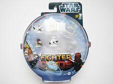 Star Wars Fighter Pods Set #4: 4 Figuren Figurines + 2 Pods, Hasbro #38488 boxed