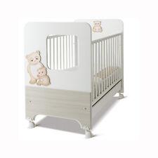Azur Lettino Oblò Dolce sogno Panda Bianco-Larice chiaro 60000244