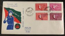 1961 Saigon Vietnam First Day Cover FDC Pro Youth