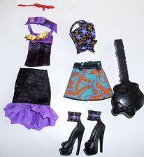 Monster High Create-a-Monster Vampire & Sea Monster Fashions 2 Outfits New Loose
