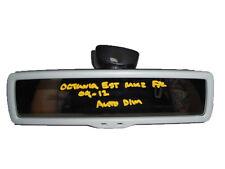 *SKODA OCTAVIA MK2 1Z F/L 09-13 GREY BLACK AUTO DIM REAR VIEW MIRROR 1K0857511D